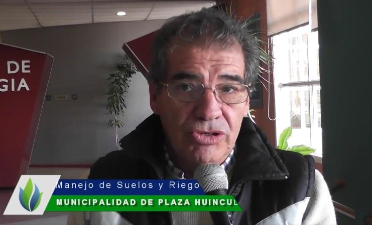 CURSO   «MANEJO DE SUELOS Y RIEGO»   EN PLAZA HUINCUL
