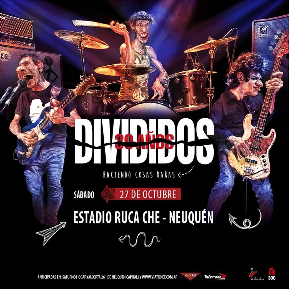 DIVIDIDOS GIRA 30° ANIVERSARIO «HACIENDO COSAS RARAS»