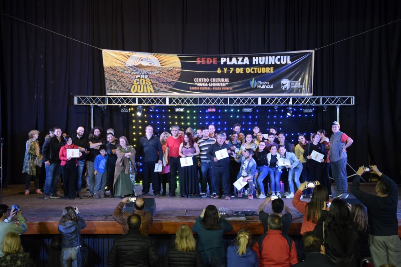 GANADORES  CERTAMEN PRECOSQUIN  2018-2019