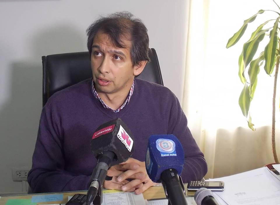 GUSTAVO SUAREZ PRE CANDIDATO A INTENDENTE DE LA CIUDAD DE PLAZAHUINCUL
