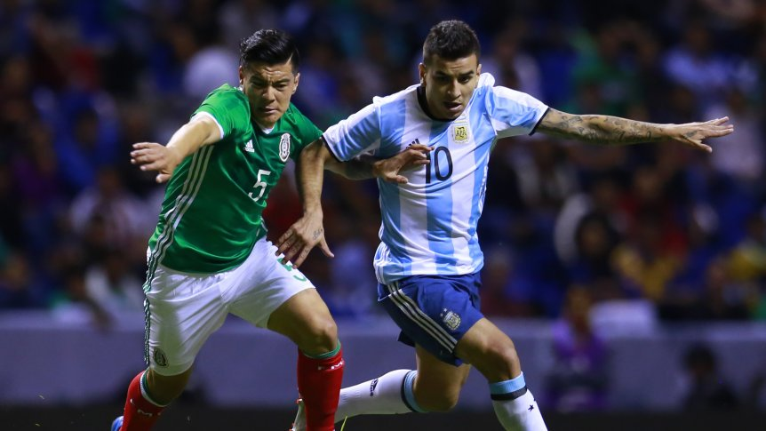 MEXICO SERA RIVAL DE ARGENTINA POR PARTIDA DOBLE EN LA FECHA FIFA DE NOVIEMBRE