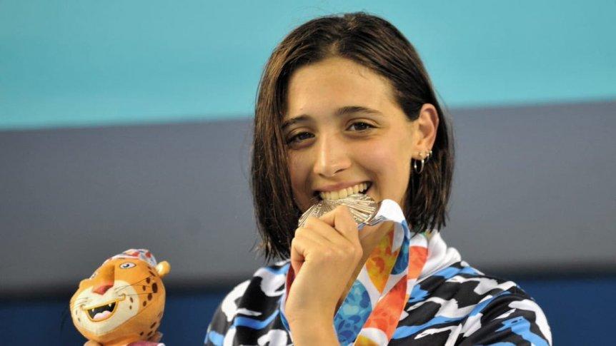 Juegos de la Juventud: Delfina Pignatiello se quedó con la medalla plateada en Buenos Aires