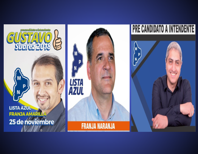 Encuestómetro de pre candidatos a Intendentes en Plaza Huincul por el MPN