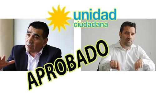 Aprobado el frente con Rioseco por Unidad Ciudadana