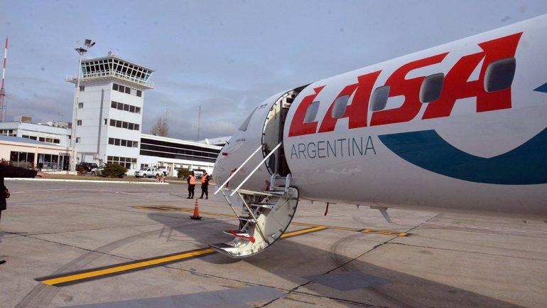 Aerolineas LASA duró un mes en la Patagonia y los viajes a Cutral Có ?