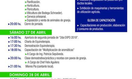 Cronograma Expo-Rural a Realizarse los Días 26 y 27
