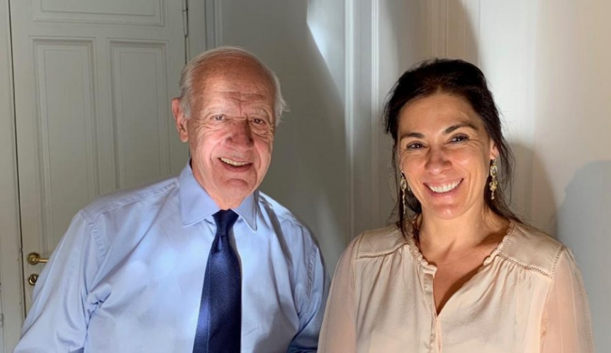 Lucila Crexell, referente del MPN ratificó su apoyo ante eventual candidatura de Roberto Lavagna