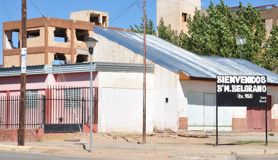 En Barrio Belgrano existe desalojo por parte de malvivientes