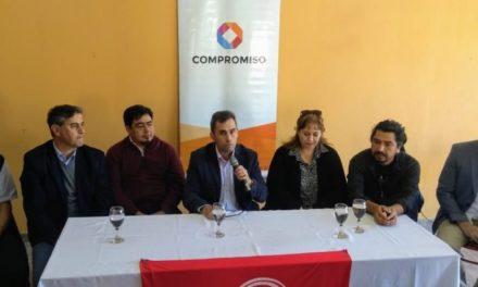 Iril lanzò su candidatura a intendente de la cuidad de Plaza Huincul