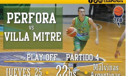 Perfora VS Villa Mitre