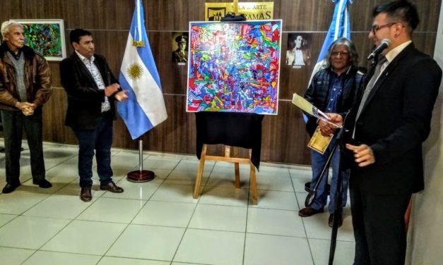 Exposición de Federico Sandoval en la Sala de Dioramas