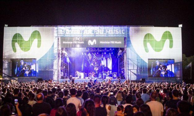 Movistar Fri Music en el Parque Central de Neuquen