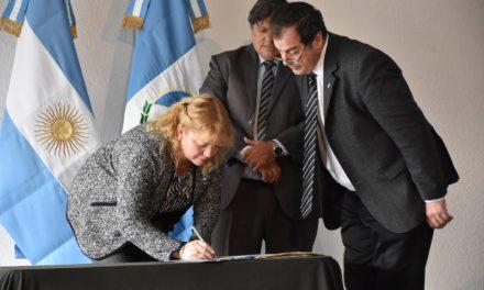 Acto de Asunción de la Secretaria de Relaciones Institucionales