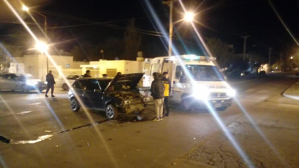 Choque en Belgrano y Tucuman
