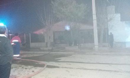 Incendio En Vivienda del Barrio Centenario