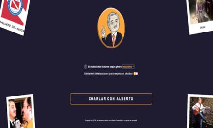«Charla con Alberto» chatea con el Candidato
