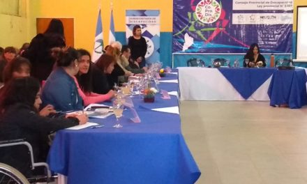 12° Asamblea General Ordinaria CO.PRO.DIS en Plaza Huincul