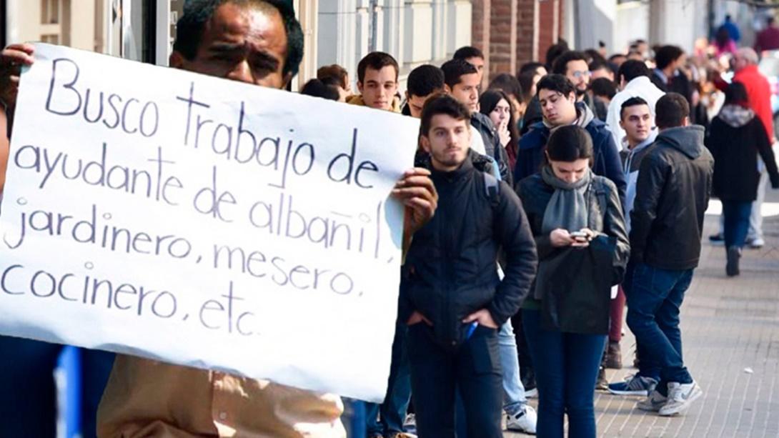 2,3 Millones de Desocupados en Argentina