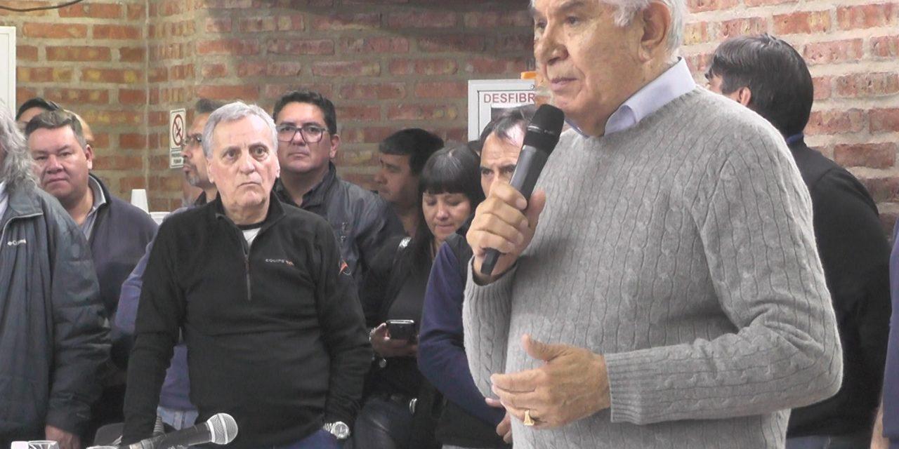 EL Sindicato Petroleros apoyara al candidato presidencial Alberto  Fernandez