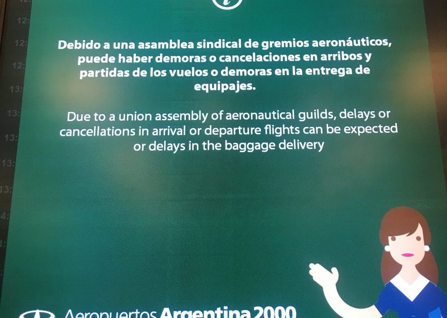 Vuelos Cancelados , 4700 pasajeros afectados