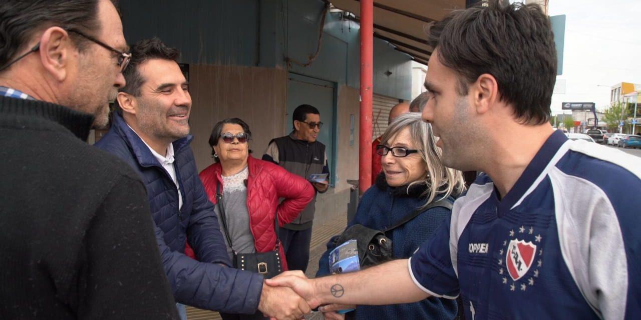 """Martínez: """"Con Alberto y Cristina vamos a reactivar la actividad económica"""""""