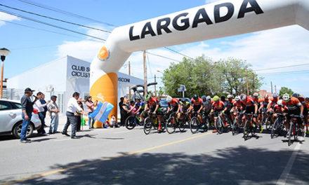 Con Viento a favor se largo la 9na vuelta Ciclistica de Cutral Co