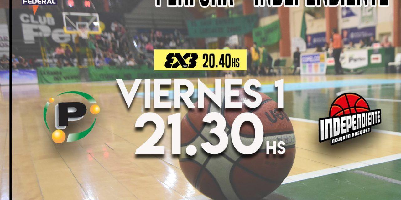 Perfora de Local VS Independiente a las 21:30hs