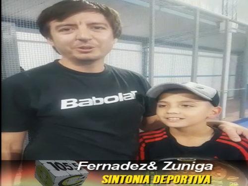 Fernandez y Zuniga Campeones de Padel 7° Libre