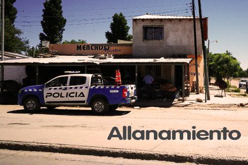 Allanamiento en Vivienda de Plaza Huincul