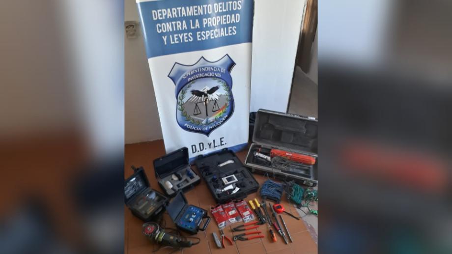 Robo de herramientas a PECOM valuados en 20.000 dolares