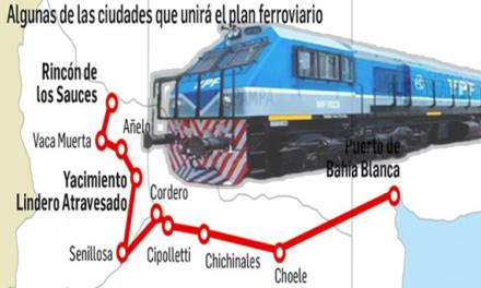 Se Viene el tren a VACA MUERTA