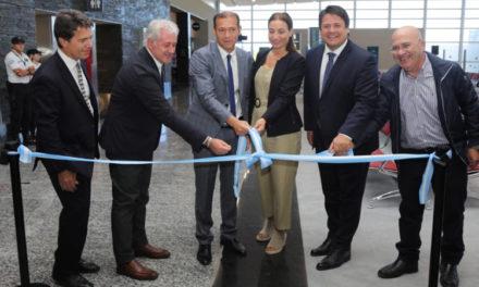 El Gobernador Omar Gutierrez Inauguro Ampliación del Aeropuerto Neuquen