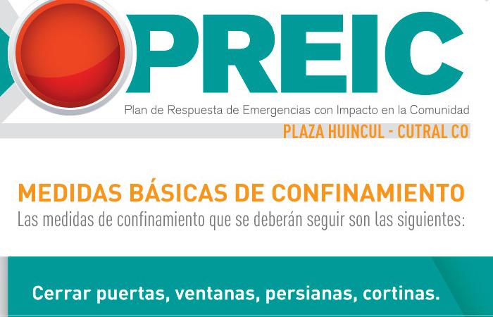 Segundo simulacro general de PREIC en Cutral Co y Plaza Huincul