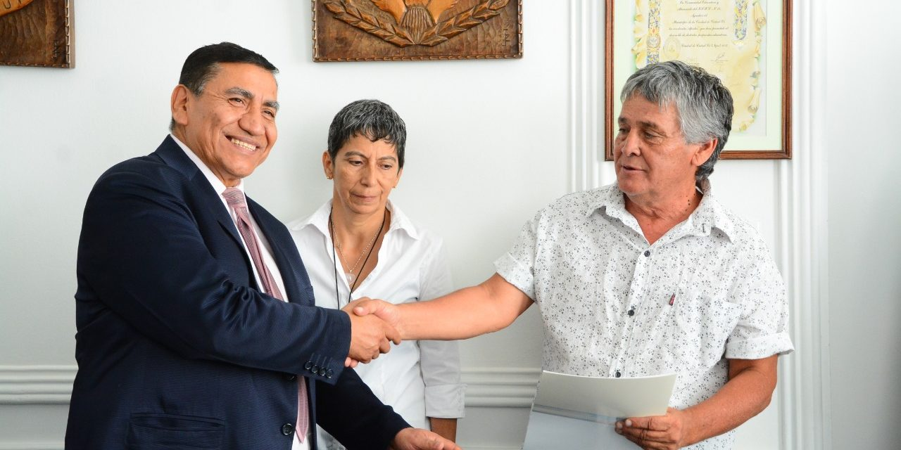 Acuerdo entre José Rioseco y ATE