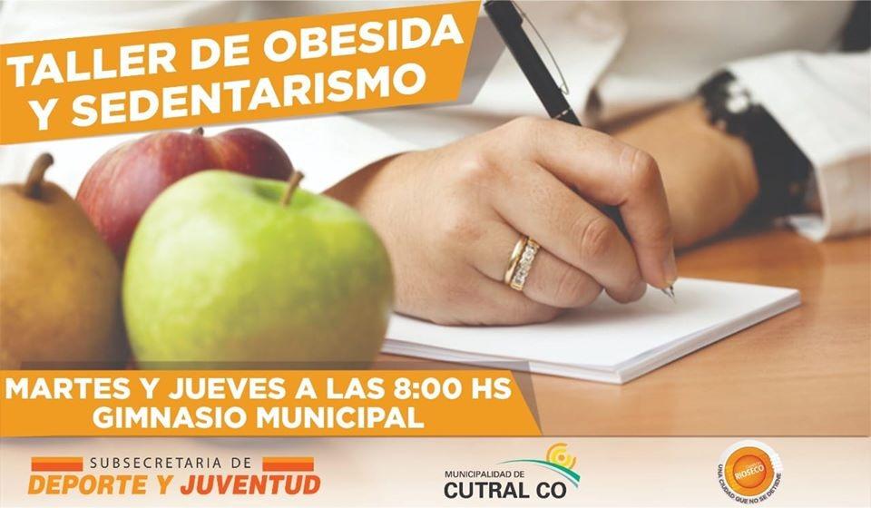 Taller de Obesidad y Sedentarismo en Cutral Co