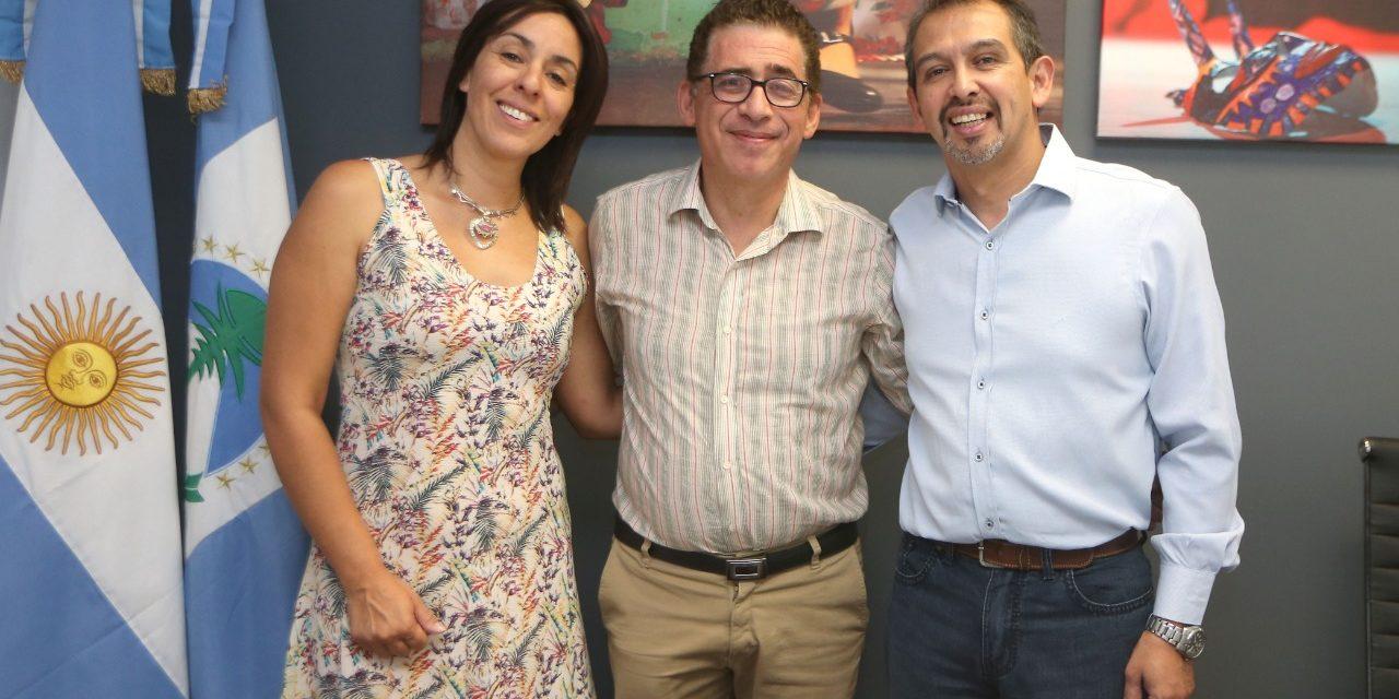 Suarez con Ministro de las Culturas Marcelo Colonna