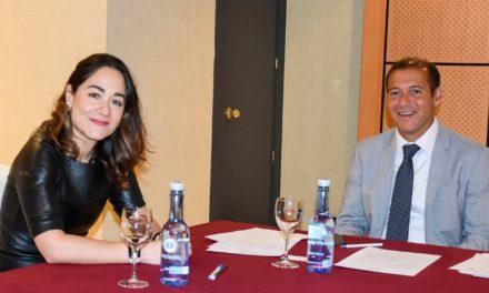 Omar Gutierrez se reunió con representante de Shell