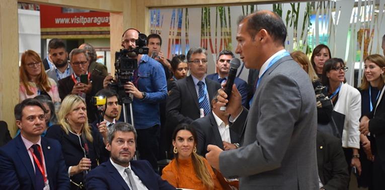 Gutierrez expuso en la Feria de Turismo