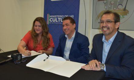 Suarez firma Convenio para el uso del Gregorio Alvarez