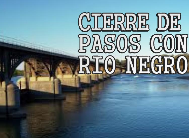 Neuquén cierra pasos con Río Negro