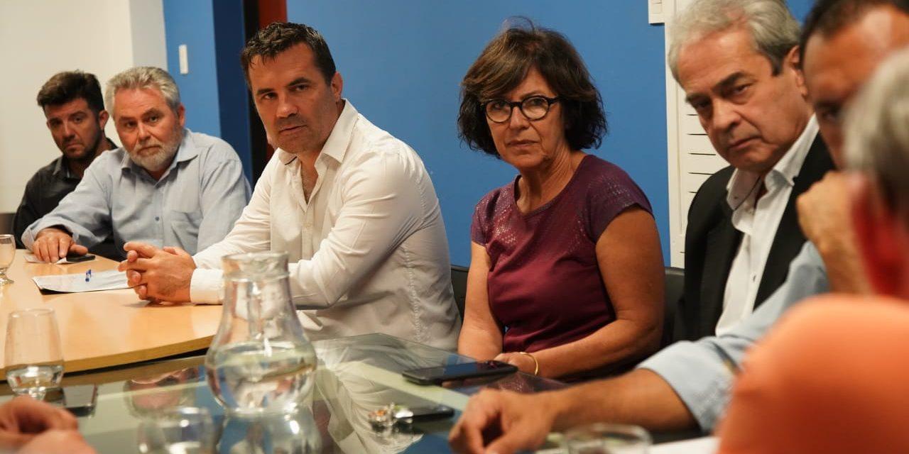 Martinez y Sapag recibieron a representantes del Sector Energético