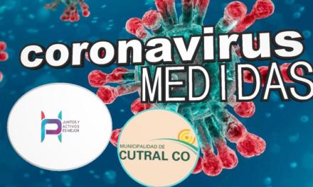 Coronavirus y las Medidas en Plaza Huincul y Cutral Co