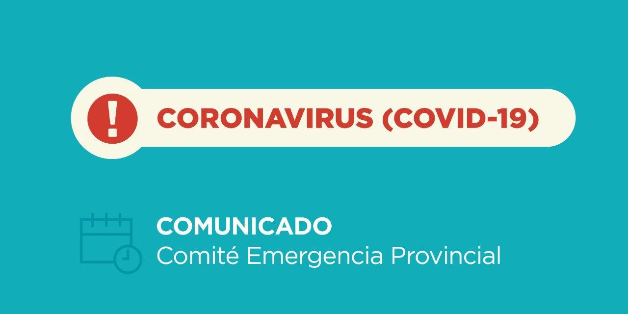 6 Nuevos casos de Coronavirus en Neuquen y el Positivo de Zapala