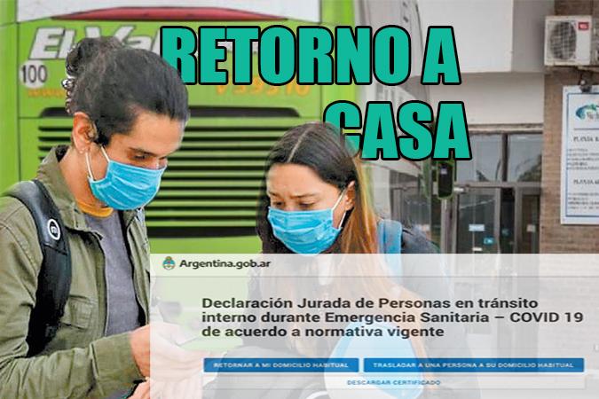 Operación retorno dentro del País