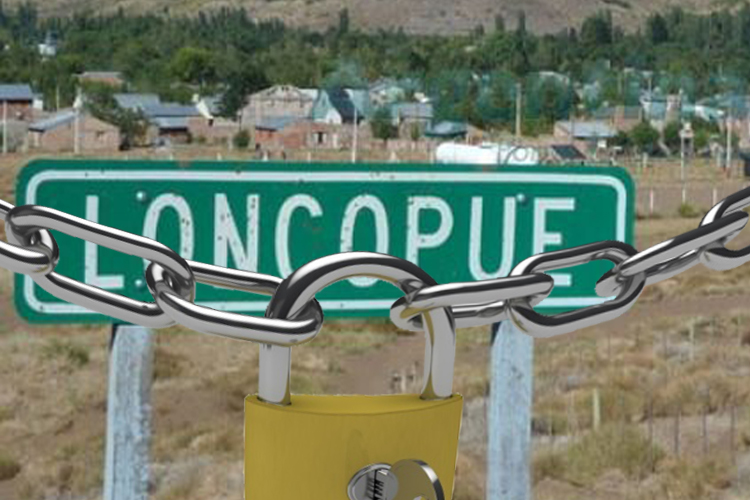 Se cierra Loncopué hasta el 23 de Abril a las 12hs