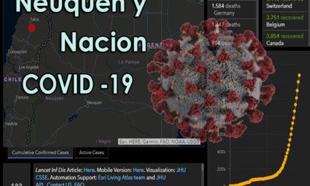 Reporte del COVID-19 en Provincia y Nación