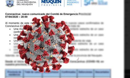 Informe de Provincia-Salud sobre Coronavirus