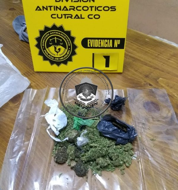 Cutral Co, secuestran estupefacientes en unidad de detención N°22
