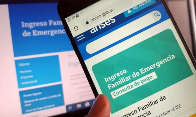IFE: Anses dio a conocer calendario de Pago