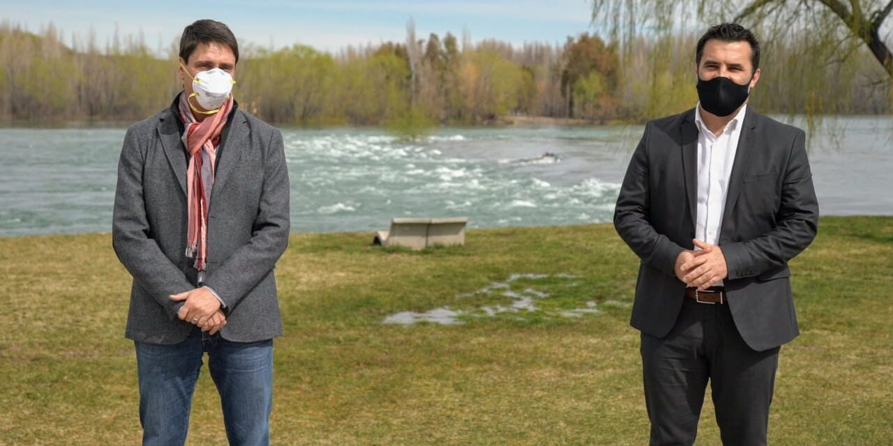 Darío Martínez recibió en Neuquén al CEO de YPF, Sergio Affronti